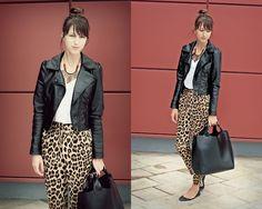 Pyjama pants (by No Life Till Leather .) http://lookbook.nu/look/4008748-Pyjama-pants