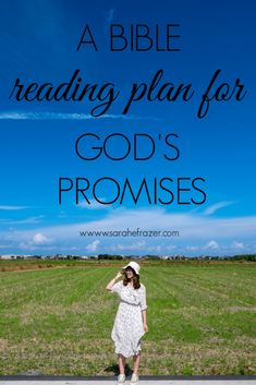 Celebrate God's promises and find hope in Scripture with this free Bible reading plan. Use this Scripture guide to help you grow in faith and jump start your quiet time. || Sarah E. Frazer Printable Bible Reading Plans, Bible Study Plans, Bible Study Tips, Christian Prayers, Christian Devotions, Bible Promises, Gods Promises, Gospel Bible, God Loves You