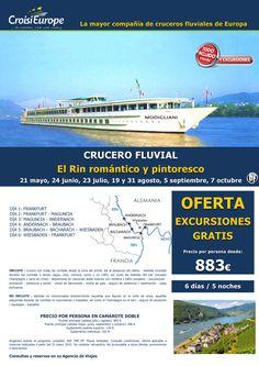 Crucero fluvial Rin Romántico - oferta Exc. GRATIS - sal. de mayo  a octubre - todo incluido (6d/5n) ultimo minuto - http://zocotours.com/crucero-fluvial-rin-romantico-oferta-exc-gratis-sal-de-mayo-a-octubre-todo-incluido-6d5n-ultimo-minuto-2/
