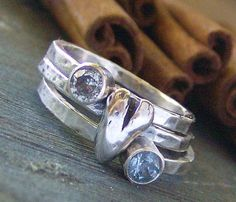 stackable birthstone rings. can put names on back. love these...