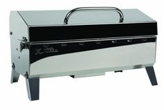 Kuuma 58110 Stow N' Go 160 Charcoal Grill with Inner Lid Liner * You can find more details by visiting the image link.