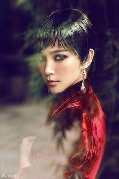 Li Bingbing by Chen Man for Vogue China Oct. 2012