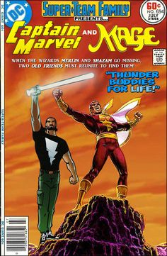 Super-Team Family: The Lost Issues!: Captain Marvel and Mage