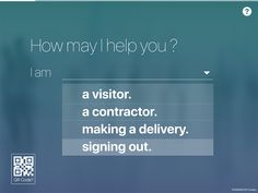 iLobby is the best solution to optimize your visitor management process.