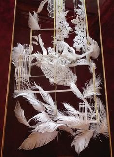 紙1枚で出来てます!立体切り絵アーティストの作品が繊細で美しい(画像19枚)soumaさん作