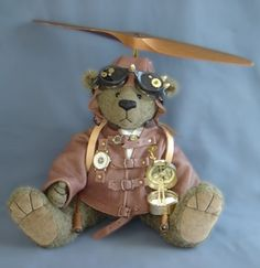 Pilot in Steampunk-Style