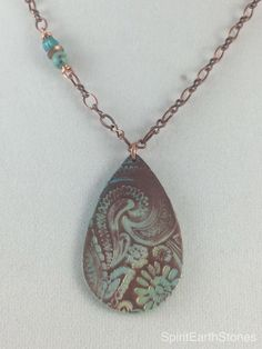 A personal favorite from my Etsy shop https://www.etsy.com/listing/262512862/18-polymer-clay-necklace-with-african