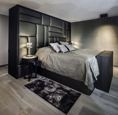 The post Project Penthouse appeared first on HOOG.design - Exclusive living inspiration in the United Kingdom. Home Design, Interior Design, Dream Bedroom, Master Bedroom, Bedroom Decor, Glamour Decor, Lounge, Headboards For Beds, Awesome Bedrooms