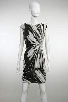 Suzi Chin for Maggy Boutique. Side Drape Dress  http://www.searlenyc.com/store/product6362.html