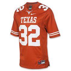 Men's Nike Texas Longhorns College Football Game Jersey-Finish Line