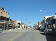 Beautiful downtown Clayton, New Mexico. I was born there!