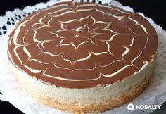 Mogyoróvajas-karamellás torta   NOSALTY Hungarian Cake, Hungarian Recipes, Tiramisu, Baking, Ethnic Recipes, Food, Cakes, Pizza, Caramel