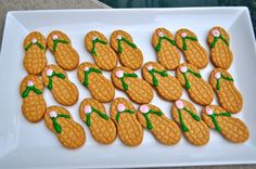 Flip Flop Cookies. Fun & easy