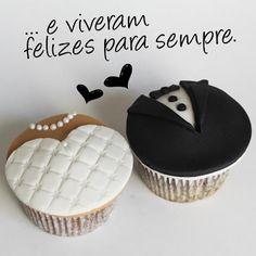 Cupcake de casamento - Cupcake Delicious