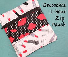 Sew in Love {with Fabric}: 1-hour Zip Pouch Tutorial