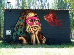 https://flic.kr/p/v7HpdH | rnst-graffiti-street-art-urbain | un dimanche a la campagne :)