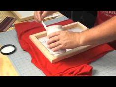 Tutorial Serigrafia con Stencil | totenart.com - YouTube Silkscreen, Screen Printer, Printmaking, Decoupage, Clip Art, Diy Crafts, Crafty, Make It Yourself, Prints
