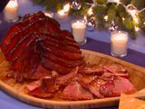 Picture of Dijon Maple Glazed Spiral Ham Recipe