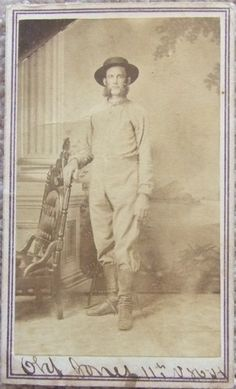CDV Ink ID'd Civil War NHV Infantry Hospital Steward/ Ass't Surgeon c.1863 | eBay | Charles M. Jones