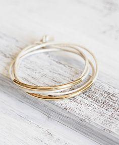 """Armbänder - Echtleder Armband """"Tingval"""" Perlmutt ... - ein Designerstück von pikfine bei DaWanda"""