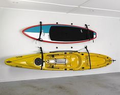 The Railblaza Wall Sling and Starport Kayak Hanger will free up space in your garage, shed or yard by allowing you to hang your craft on the wall. Kayak Storage Rack, Kayak Rack, Bag Storage, Coyote Hunting, Archery Hunting, Fishing Tools, Kayak Fishing, Kayak Hanger, Kayak Trolling Motor