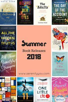new summer book release 2018