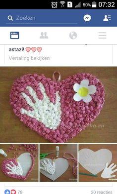 Spring Crafts For Kids, Autumn Crafts, Paper Crafts For Kids, Valentines Art For Kids, Valentine Day Crafts, Grandparents Day Crafts, Mothers Day Crafts, Frog Crafts, Preschool Crafts