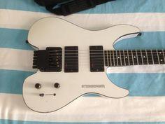 Steinberger GM2S White (GM) Vito Bratta, EMG pickups, headless guitar, graphite neck, (incl. gigbag) | Reverb