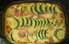 Diet Dukan (slimming recipe): Flan with zucchini www. How To Treat Acne, I Foods, Zucchini, Food And Drink, Healthy Recipes, Vegetables, Detox Fruits, Put, Buffets