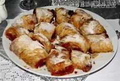 Tradičná doma pečená višňová štrúdľa (fotorecept) - Recept 20 Min, Ale, French Toast, Breakfast, Food, Basket, Morning Coffee, Ales, Meals