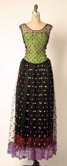 Geoffrey Beene Dress Spring/Summer 1991