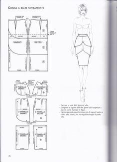 Patternmaking by Pennie Annie - issuu Dress Making Patterns, Skirt Patterns Sewing, Clothing Patterns, Modelista, Pattern Cutting, Pattern Drafting, Fashion Sewing, Pattern Fashion, Dressmaking