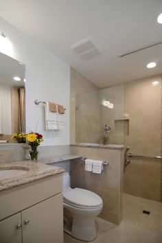 handicap bathroom design | ... Boomer Wheelchair Accessible ...