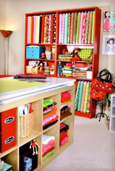 I dream of a room to hold all my diy stuff... Much nicer than the spare closet..