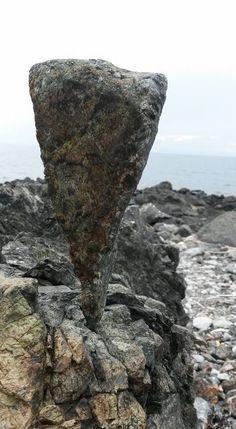 Cuori di pietra in equilibrio per te:  Liguria