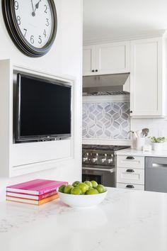 Kitchen TV | Blue Ridge Boeing Castle Taken to New Heights by Model Remodel, Seattle, WA