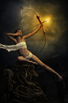 AstroSpirit / Sagittarius ♐ / Fire / The Archer / The Centaur / Le Sagittaire / Eternal Flame by ~igreeny