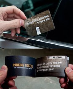 Parking Tickets Booklet - $6