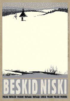 Kaja going twice… Beskid Niski - POSTER by Ryszard Kaja