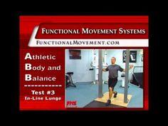 Physical Medicine--Self Movement Screen