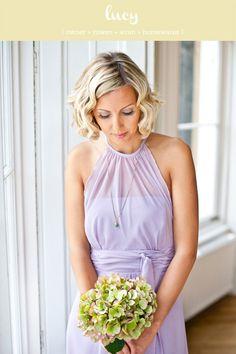 bridesmaid halter top style