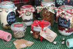 One of my family's favorite Christmas traditions is to make homemade gifts in a jar. And the wonderful thing is, they're as much fun to make together, as they are to give to others! Simply layer th...