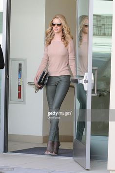 Rosie Huntington-Whiteley as seen on February 21, 2013 in Los Angeles, California.