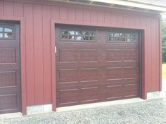 Raynor Accufinish Showcase Cherry Raynor Garage Doors