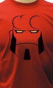Camiseta Hellboy Face