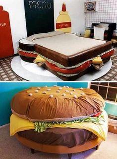 ►Cama emparedado, cama hamburguesa‼