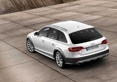 10 Nice Audi A4 Allroad Quattro Showing Rear Side iPhone Wallpaper