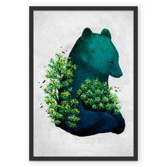Poster Abraçando a Natureza de @filgouvea | Colab55