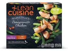 LOVEit. Not enough to fill me up, but so far it's my favorite LC meal Pomegranate Chicken - Lean Cuisine