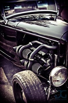 Quad Turbo Rat Rod....sick